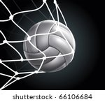 Volleyball Ball Set 3 Vector...
