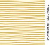 creative seamless pattern. hand ... | Shutterstock .eps vector #661070812