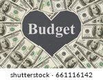 the love to have a budget... | Shutterstock . vector #661116142