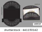 vector laser cutting. | Shutterstock .eps vector #661150162