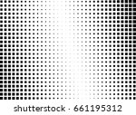 abstract halftone dotted... | Shutterstock .eps vector #661195312
