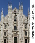 The Milan Cathedral Or Duomo D...