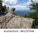 blowing rock north carolina... | Shutterstock . vector #661219546