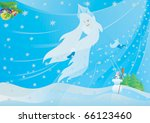 abstract winter background. on...   Shutterstock .eps vector #66123460