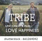 family parentage home love... | Shutterstock . vector #661264042