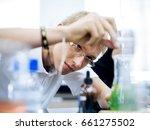 high school students studying... | Shutterstock . vector #661275502