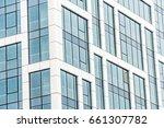detail shot of modern... | Shutterstock . vector #661307782