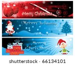 stylish pattern merry xmas... | Shutterstock .eps vector #66134101
