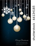 christmas background | Shutterstock .eps vector #66134185