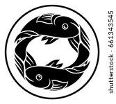 astrology horoscope zodiac sign ... | Shutterstock .eps vector #661343545