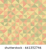abstract retro pattern of... | Shutterstock .eps vector #661352746