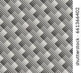 vector seamless geometric... | Shutterstock .eps vector #661366402