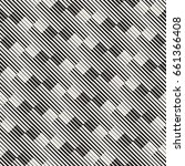 vector seamless geometric... | Shutterstock .eps vector #661366408