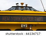 Front Led Sign Of New York...