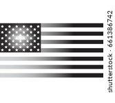 usa flag | Shutterstock .eps vector #661386742