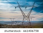 Electricity Pylon With The...