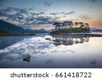peace and tranquillity in the... | Shutterstock . vector #661418722