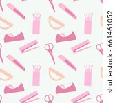 pattern back to school | Shutterstock .eps vector #661461052