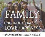 family parentage home love... | Shutterstock . vector #661475116