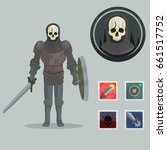fantasy game character concept  ...   Shutterstock .eps vector #661517752