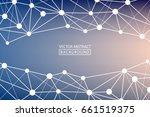 geometric vector. concept of... | Shutterstock .eps vector #661519375