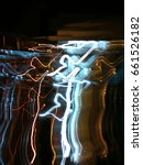abstract of light painting    Shutterstock . vector #661526182