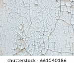 old wall with white peeling... | Shutterstock . vector #661540186
