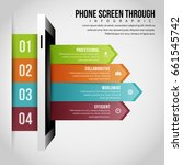 vector illustration of phone... | Shutterstock .eps vector #661545742