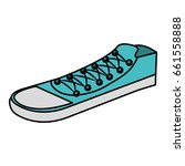 shoes young style icon | Shutterstock .eps vector #661558888