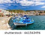 samos island  greece   may 22 ... | Shutterstock . vector #661563496