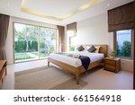 luxury interior design in... | Shutterstock . vector #661564918