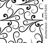 elegant victorian style... | Shutterstock .eps vector #661570342