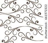elegant victorian style... | Shutterstock .eps vector #661572322
