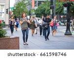 chicago  il  june 15  2017 ... | Shutterstock . vector #661598746