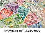 variety of the african banknotes | Shutterstock . vector #661608802