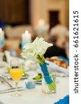 the bride's bouquet | Shutterstock . vector #661621615
