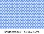 Pattern  Small Elements. Blue...