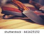 close up of custom made... | Shutterstock . vector #661625152