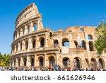 rome  italy   april 24  2017.... | Shutterstock . vector #661626946