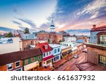 annapolis  maryland  usa... | Shutterstock . vector #661637932