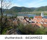 small town in the danube delta | Shutterstock . vector #661644022
