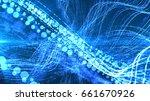 digital matrix particles grid...