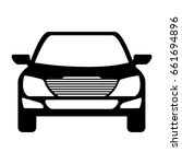 car vehicle icon | Shutterstock .eps vector #661694896