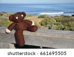 Teddy Bear On The Beach  On...