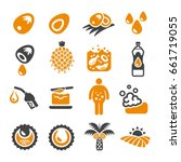 palm oil icon | Shutterstock .eps vector #661719055