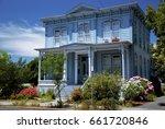 victorian house in napa ... | Shutterstock . vector #661720846
