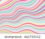 design template with curve...   Shutterstock .eps vector #661725112