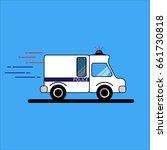 police car | Shutterstock .eps vector #661730818