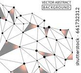 geometric background. internet...   Shutterstock .eps vector #661732312