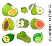 abstract vector illustration... | Shutterstock .eps vector #661735402